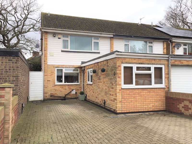 4 Bedrooms Semi Detached House for sale in Pine Tree Close, Cranford, TW5