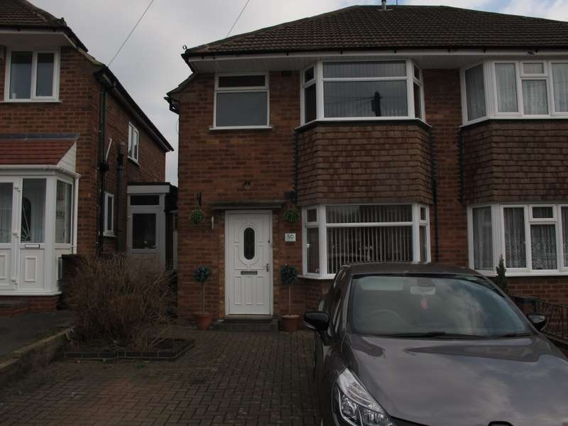 3 Bedrooms Semi Detached House for sale in Wichnor Road, Solihull