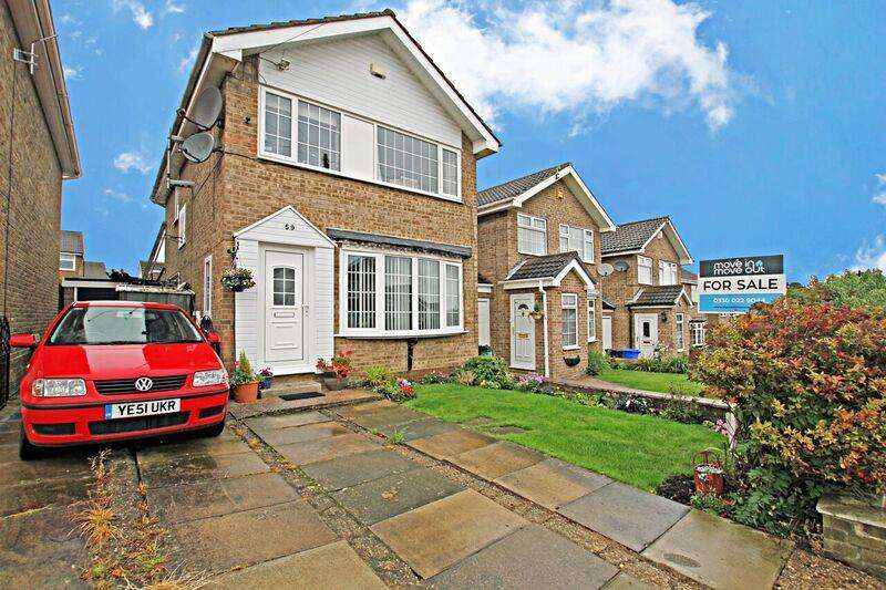 3 Bedrooms Detached House for sale in Charlton Brook Crescent, Chapeltown, Sheffield