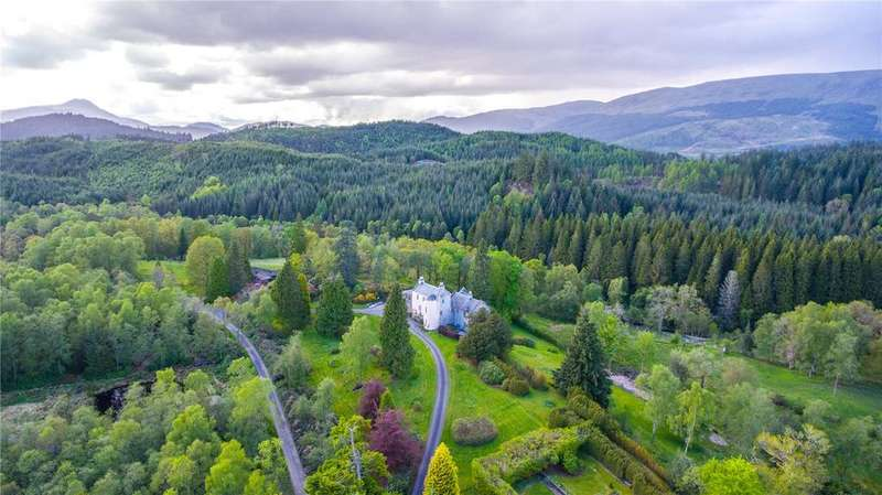 6 Bedrooms Detached House for sale in Duchray Castle, Loch Ard Forest, By Aberfoyle, Stirlingshire