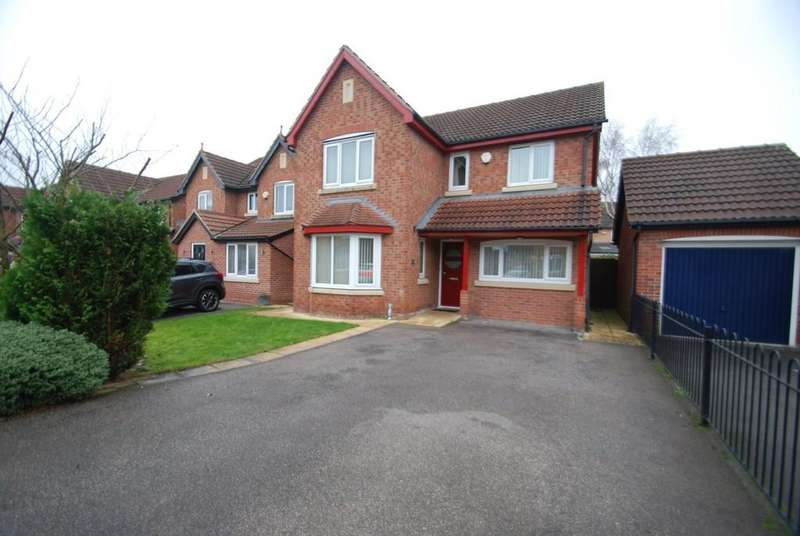 4 Bedrooms Detached House for sale in Heron Drive, Brampton Bierlow S63