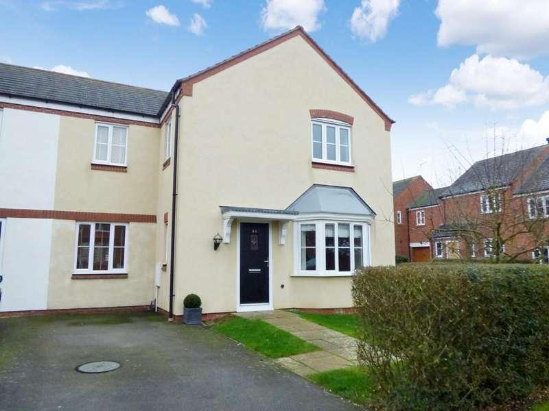 3 Bedrooms Semi Detached House for sale in Clark Walk, Ettington, Stratford-Upon-Avon