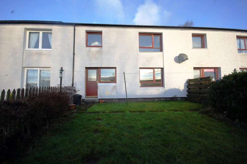 2 Bedrooms Terraced House for sale in 5 Heather Court, Galashiels, Scottish Borders, TD1