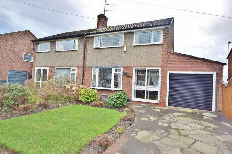 3 Bedrooms Semi Detached House for sale in East Avenue, Heald Green
