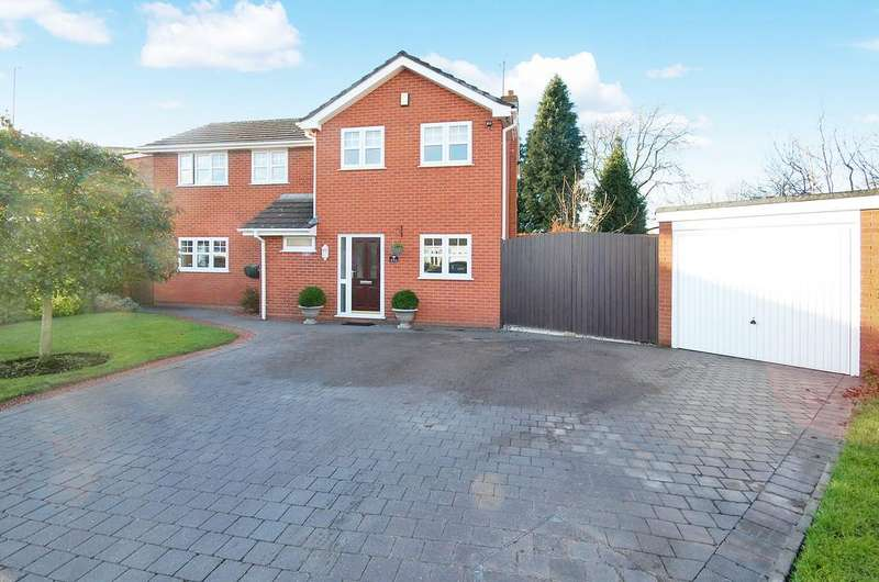 4 Bedrooms Detached House for sale in Compton, Wolverhampton WV3