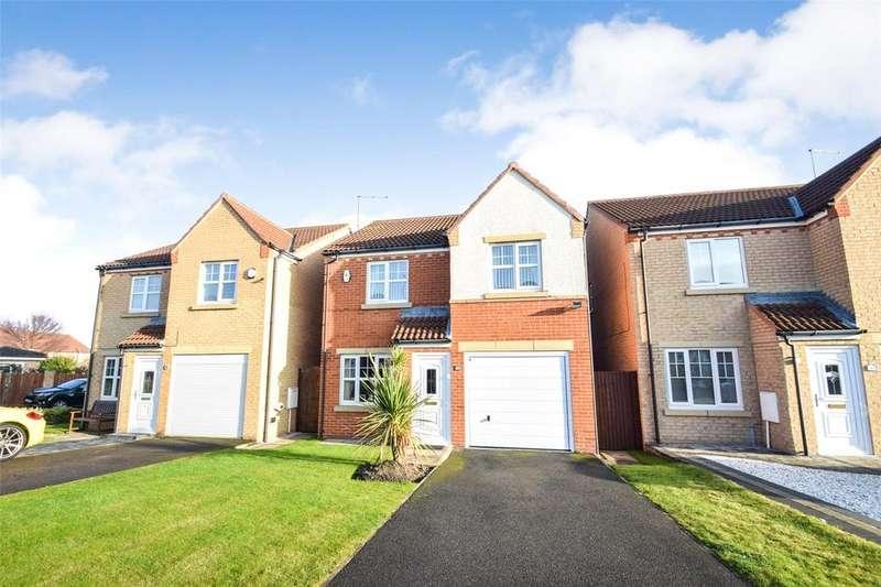 3 Bedrooms Detached House for sale in Stoneycroft Way, East Shore Village, Seaham, Co. Durham, SR7