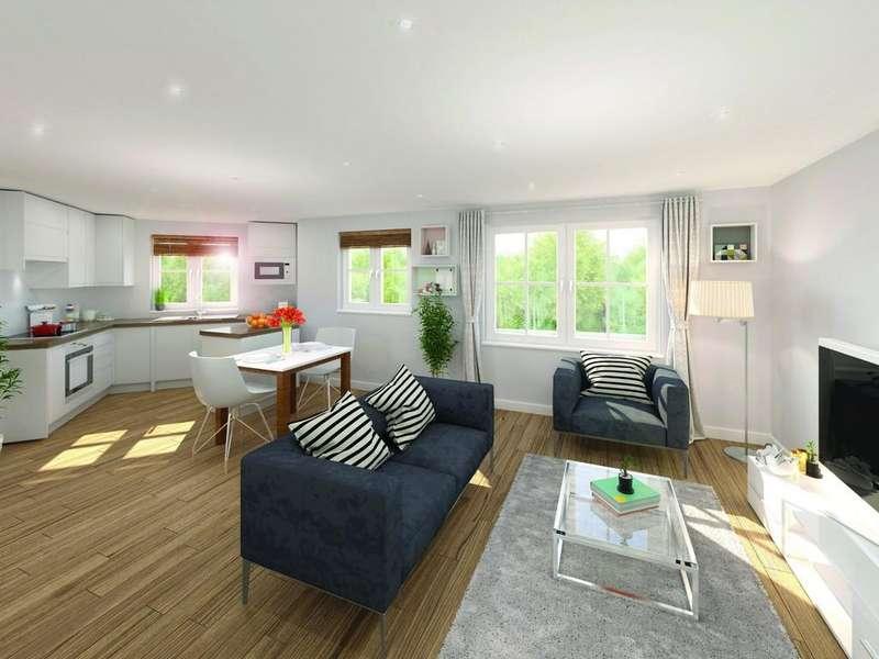 2 Bedrooms Apartment Flat for sale in Plot 7, Windsor Gate, Rosemary Lane