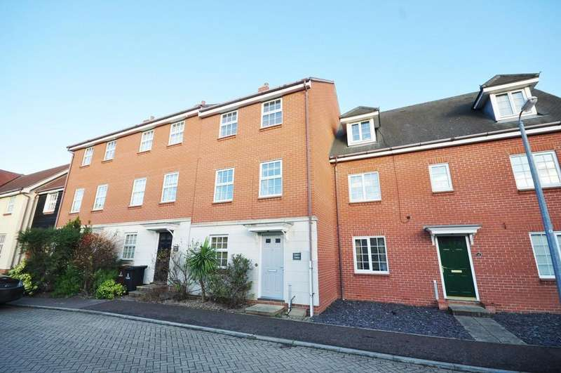4 Bedrooms Town House for sale in Shepherd Drive, Colchester, CO4 5FA