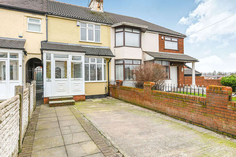 2 Bedrooms Terraced House for sale in St. Nicholas Road, Whiston, Prescot, L35