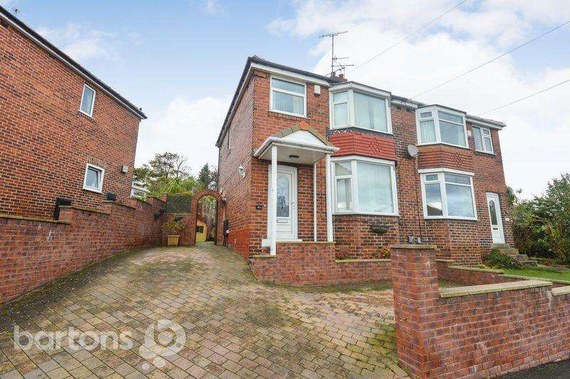 3 Bedrooms Semi Detached House for sale in Watson Road, Kimberworth, Rotherham