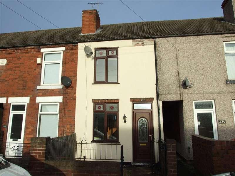 2 Bedrooms Terraced House for sale in Alfreton Road, Jubilee, Alfreton, Derbyshire, DE55