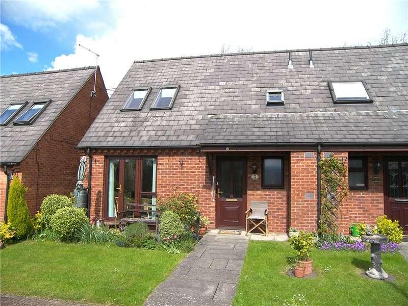 3 Bedrooms Semi Detached Bungalow for sale in Top Farm Court, Kilburn, Belper, Derbyshire, DE56
