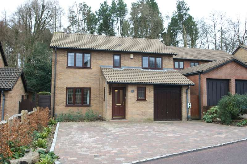 4 Bedrooms Detached House for sale in Tiffany Close, Wokingham, Berkshire, RG41