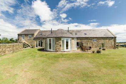 5 Bedrooms Barn Conversion Character Property for sale in Fenwick, Northumberland, NE18