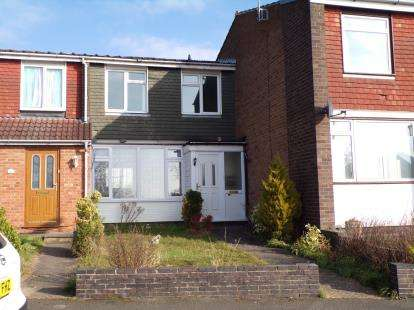 3 Bedrooms Terraced House for sale in Charnwood Avenue, Goldington, Bedford, Bedfordshire