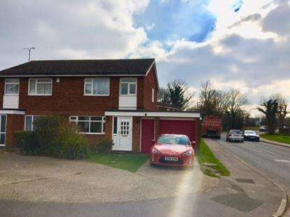 Semi Detached House for sale in Station Road, Marston Moretaine, Bedford, Bedfordshire