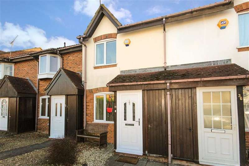 2 Bedrooms Terraced House for sale in Kimbolton Close, Freshbrook, Swindon