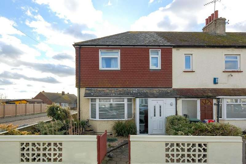 3 Bedrooms End Of Terrace House for sale in West Cliff Drive, Herne Bay