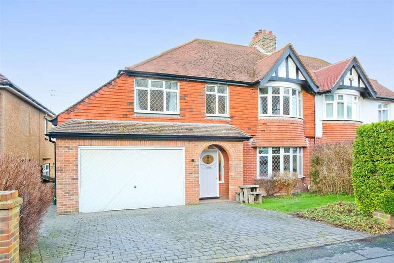 6 Bedrooms Semi Detached House for sale in Graham Avenue, Patcham, Brighton