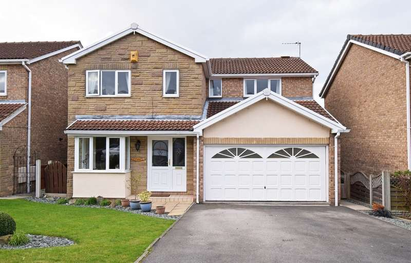4 Bedrooms Detached House for sale in Kingfisher Close, Durkar