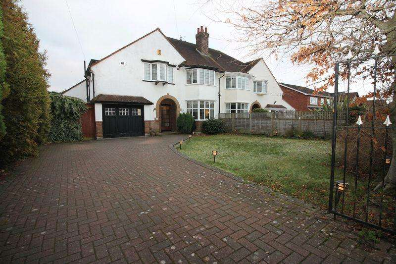 5 Bedrooms Semi Detached House for sale in 25 Brancote Road, Oxton