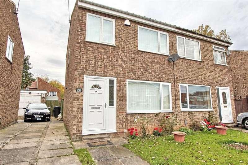 2 Bedrooms Semi Detached House for sale in Oldbury Grove, Hemlington