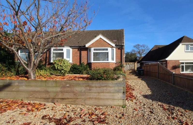 2 Bedrooms Bungalow for sale in Just over half a mile from the Locks Heath Centre your local Waitrose