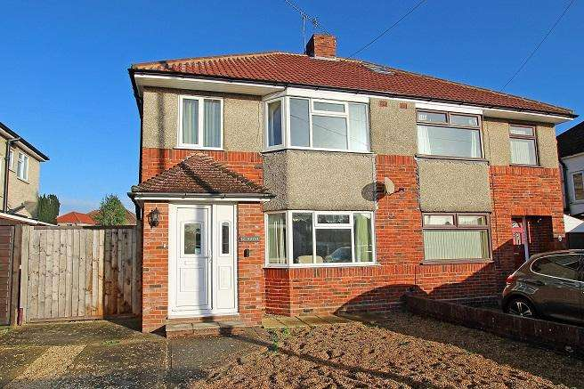 3 Bedrooms Semi Detached House for sale in Oak Avenue, Parklands, Chichester PO19