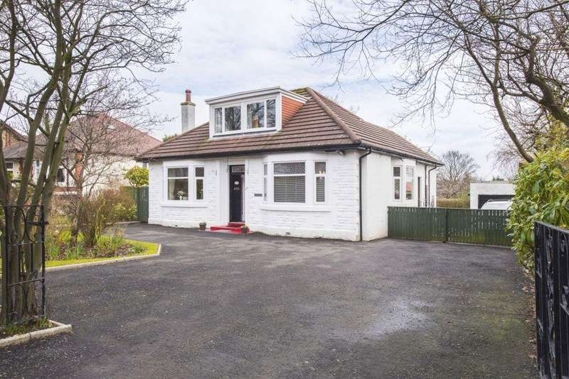 3 Bedrooms Detached Bungalow for sale in 11A Kirkintilloch Road, Lenzie, Glasgow, G66 4RW