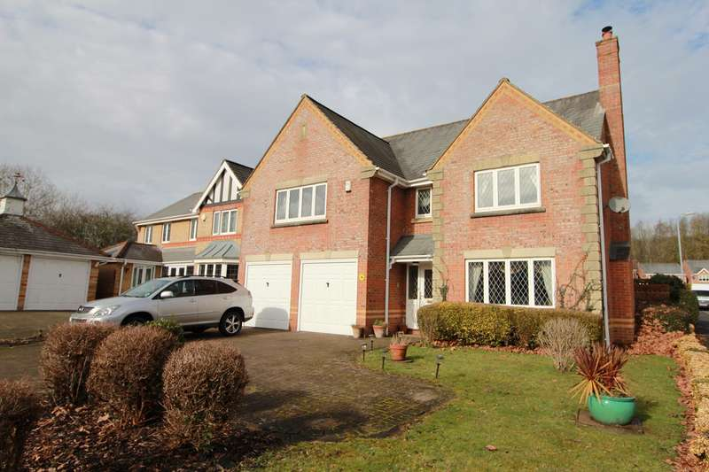 5 Bedrooms Detached House for sale in Priory Drive, Langstone, Newport, NP18