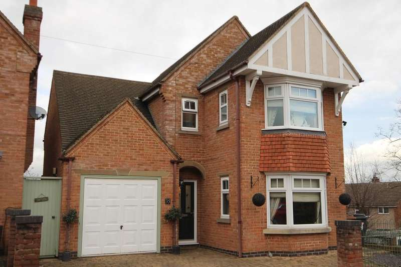 4 Bedrooms Detached House for sale in Woodland Avenue, Melton Mowbray