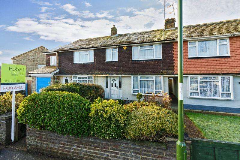 3 Bedrooms Semi Detached House for sale in Roundstone Crescent, East Preston