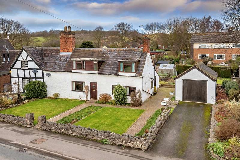 3 Bedrooms Semi Detached House for sale in Rose Cottage, Buildwas, Shropshire, TF8