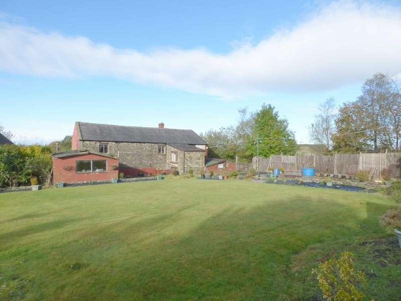 3 Bedrooms Detached House for sale in Ripponden Road, Moorside, Oldham, OL4