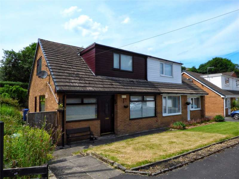 3 Bedrooms Semi Detached Bungalow for sale in Turf House Close, Littleborough, Rochdale, OL15