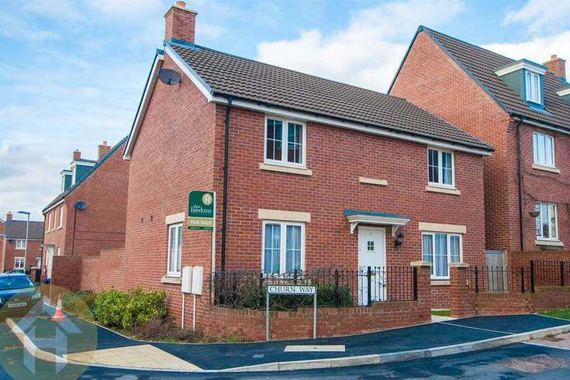 4 Bedrooms Detached House for sale in Churn Way, Royal Wootton Bassett, Swindon