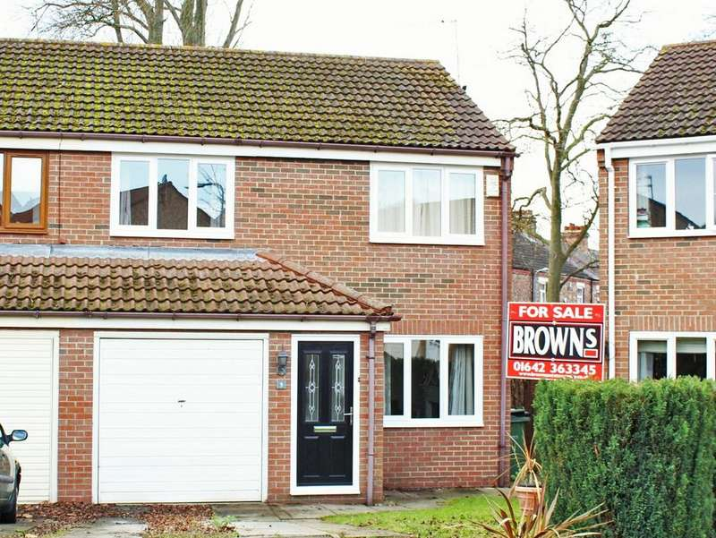 3 Bedrooms Semi Detached House for sale in Newby Close, Norton, TS20