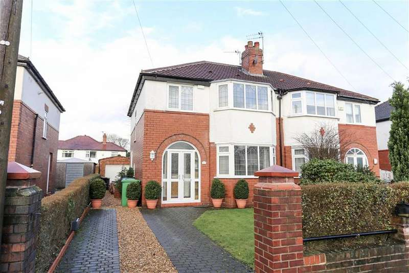 3 Bedrooms Semi Detached House for sale in Deneford Road, Didsbury, Manchester.