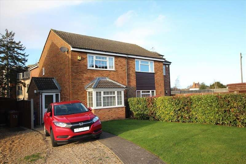3 Bedrooms Semi Detached House for sale in Laxton Gardens, BALDOCK, SG7
