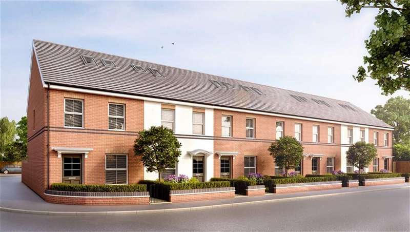 3 Bedrooms End Of Terrace House for sale in Plot 7, Loxwood Mews, Rodbourne, Swindon