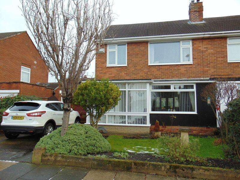 3 Bedrooms Semi Detached House for sale in Weardale Avenue, Forest Hall, Newcastle Upon Tyne