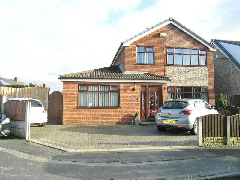 4 Bedrooms Detached House for sale in Linden Close, Woolston, Warrington