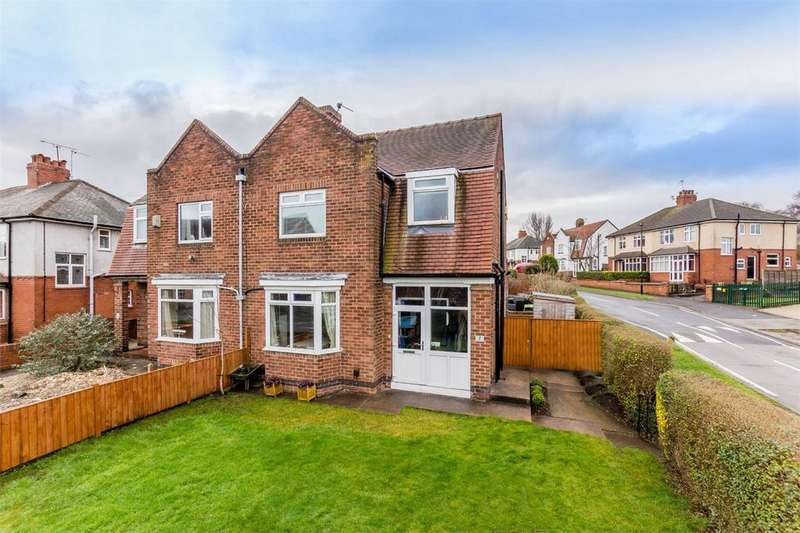 3 Bedrooms Semi Detached House for sale in Boroughbridge Road, YORK