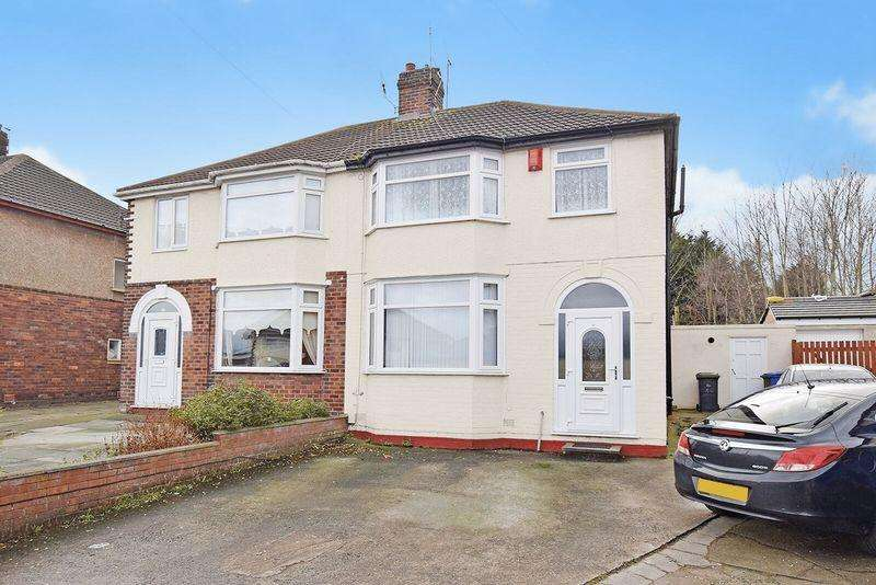 3 Bedrooms Semi Detached House for sale in Norleane Crescent, Runcorn