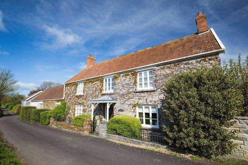 5 Bedrooms Detached House for sale in Shapwick, Near Glastonbury Wedmore.
