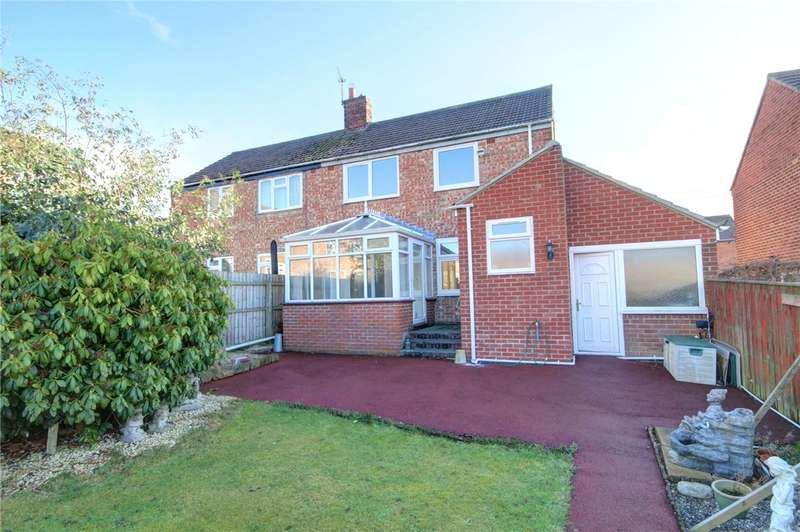 2 Bedrooms Semi Detached House for sale in South Lea, Witton Gilbert, Durham, DH7