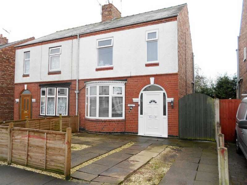 3 Bedrooms Semi Detached House for sale in Singleton Ave, Crewe, Cheshire