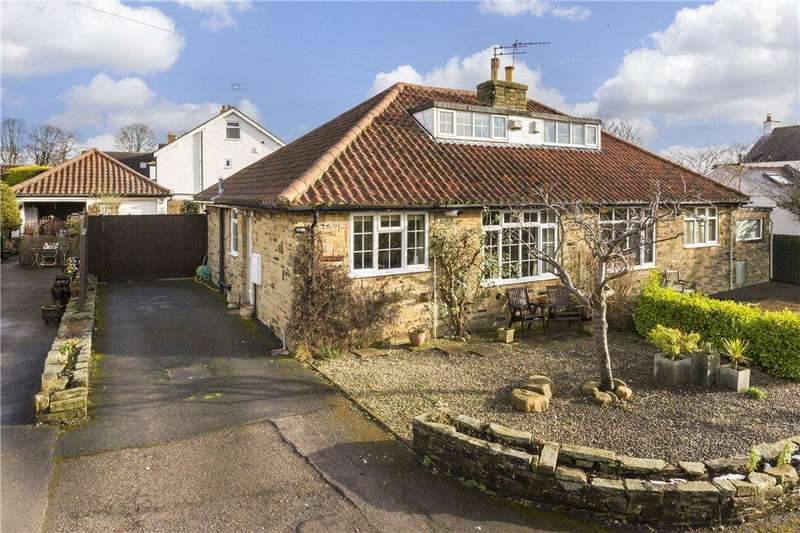 2 Bedrooms Semi Detached Bungalow for sale in Sycamore Close, Bramhope, Leeds, West Yorkshire