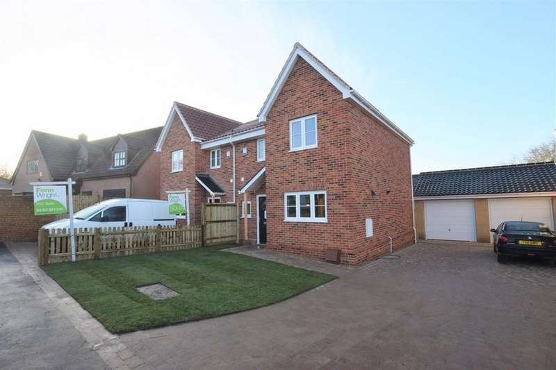 3 Bedrooms Semi Detached House for sale in Burroughs Piece Road, Sudbury CO10 2PR