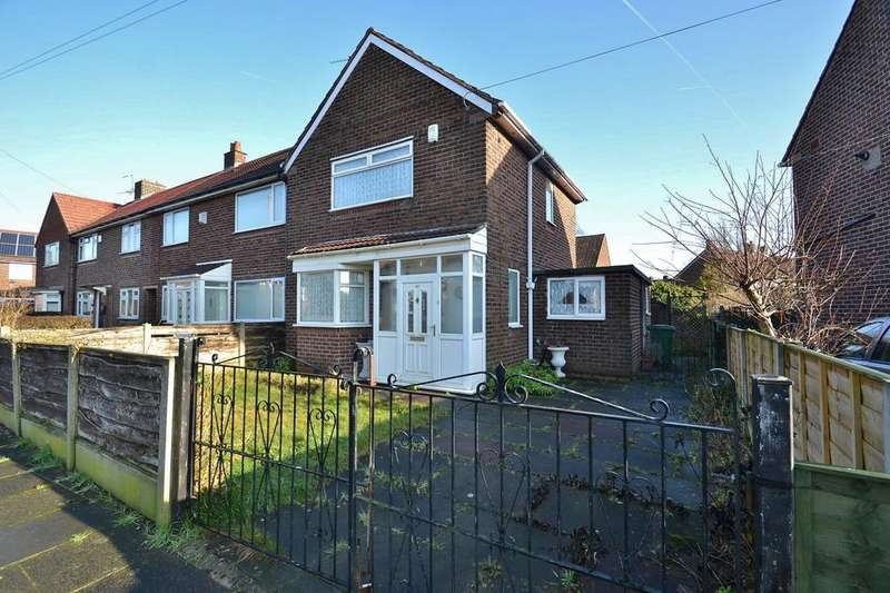 2 Bedrooms End Of Terrace House for sale in Gawsworth Road, Sale